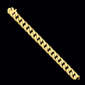 Flat Beveled Curb Chain 9.8mm