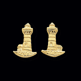 Adorable Lighthouse Earrings