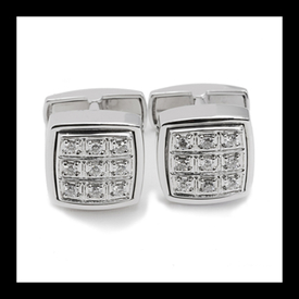 Beautiful Diamond Cufflinks