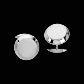 Mens Platinum Cuff links