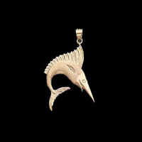14K Gold Trophy Fish