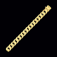 Mens Beveled Curb Chain