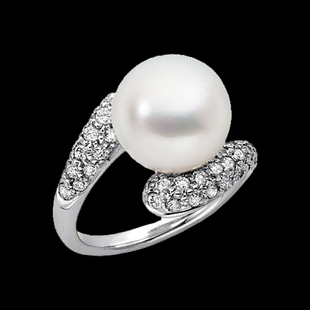 south sea pearl ring unique design for the modern