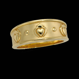 Claddagh Design Ring
