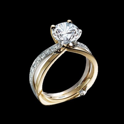 Diamond Engagement Ring Gracious Rose Com