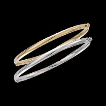 Classic Hinged Bangle Bracelet
