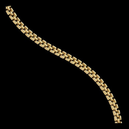 Fancy 14k Gold Bracelet