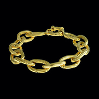 Twist Design Gold Bracelet