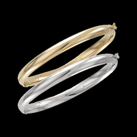 Domed Bangle Bracelet