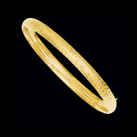 Bangle Bracelets Diamond Cut Fancy Bangle Bracelet