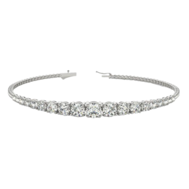 Diamond Graduated Diamond Bracelet
