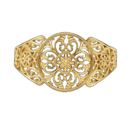 Bangle Bracelets Filigree Design Cuff Bracelet