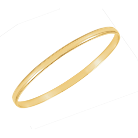 Gold Milgrain Edge Bangle Bracelet