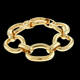 Big Gold Ladies Bracelet