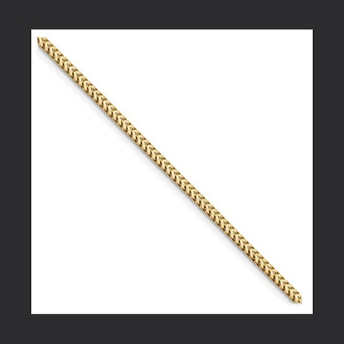 Gold Franco 2 & 2.5mm Chain