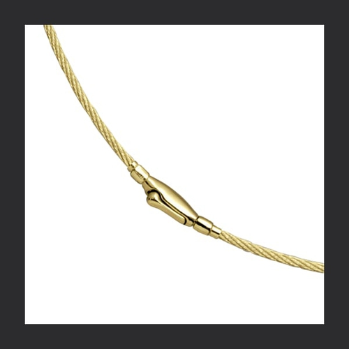 14k Gold Cablewire Chain