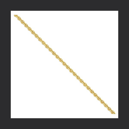 14k Gold 2mm Cable Chain