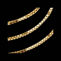 14kt Gold Box Chain