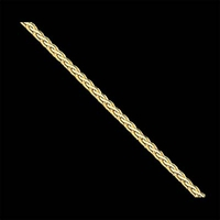 Gold Flat Wheat Chain