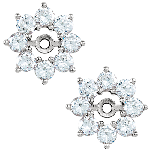Gorgeous Diamond Earring Jackets