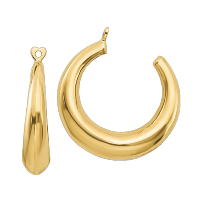 14k Gold Hoop Earring Jackets