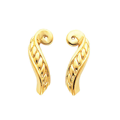 Swirl Dangle Earring Jackets