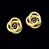 Dainty Gold Knot Earring Jackets