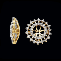 Flashy Diamond Earring Jackets