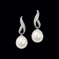 Pretty South Sea Pearl Earrings
