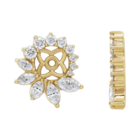 Earring Jackets Divine Diamond Earring Jackets