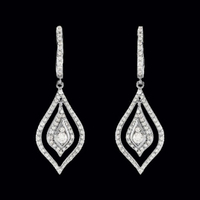 Fancy Diamond Dangle Earrings