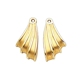 Gold Designer Earring Jackets