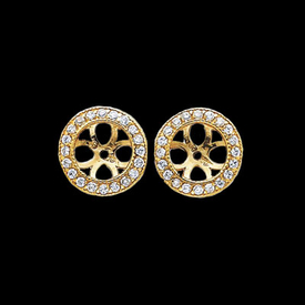 Earring Jackets Gold Diamond Earring Jackets