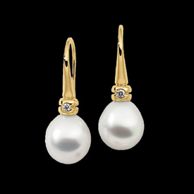 Lovely South Sea Pearl Earrings
