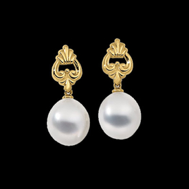 18kt South Sea Cultured Pearl Earrings