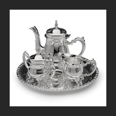 Silver Plated Mini Coffee Set