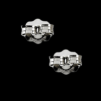 Jewelry Accessories Platinum Earring Backs
