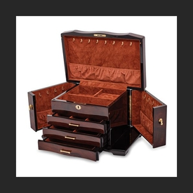 Gifts Walnut Burl Jewelry Box