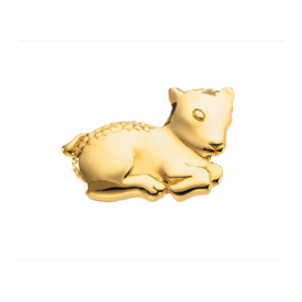The Beloved Lamb Brooch