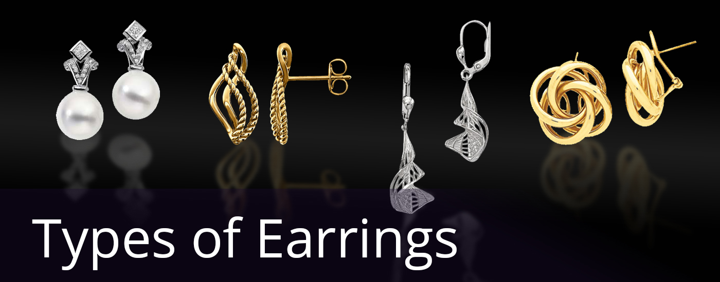 Types Of Earrings Know What Suits You Best
