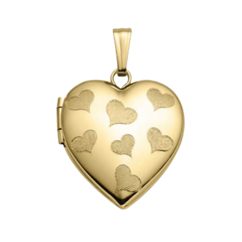 14k Gold Heart of Hearts Locket