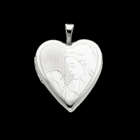Motherly Love Gold Locket
