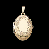 Oval Family Locket