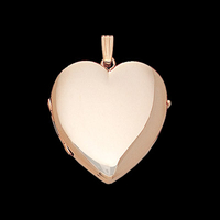 Gold Family Heart Locket