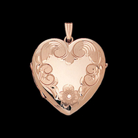 Large Family Heart Locket