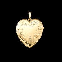 Heart Shape Family Locket