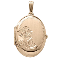 Family 4 Photo Gold Locket