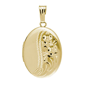 Oval Gold Locket