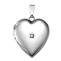 Shiny Heart Locket