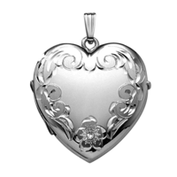 Hand Engraved Family Locket